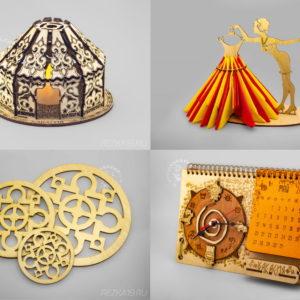 Изделия из дерева декоративные для дома