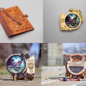Этнические сувениры из дерева
